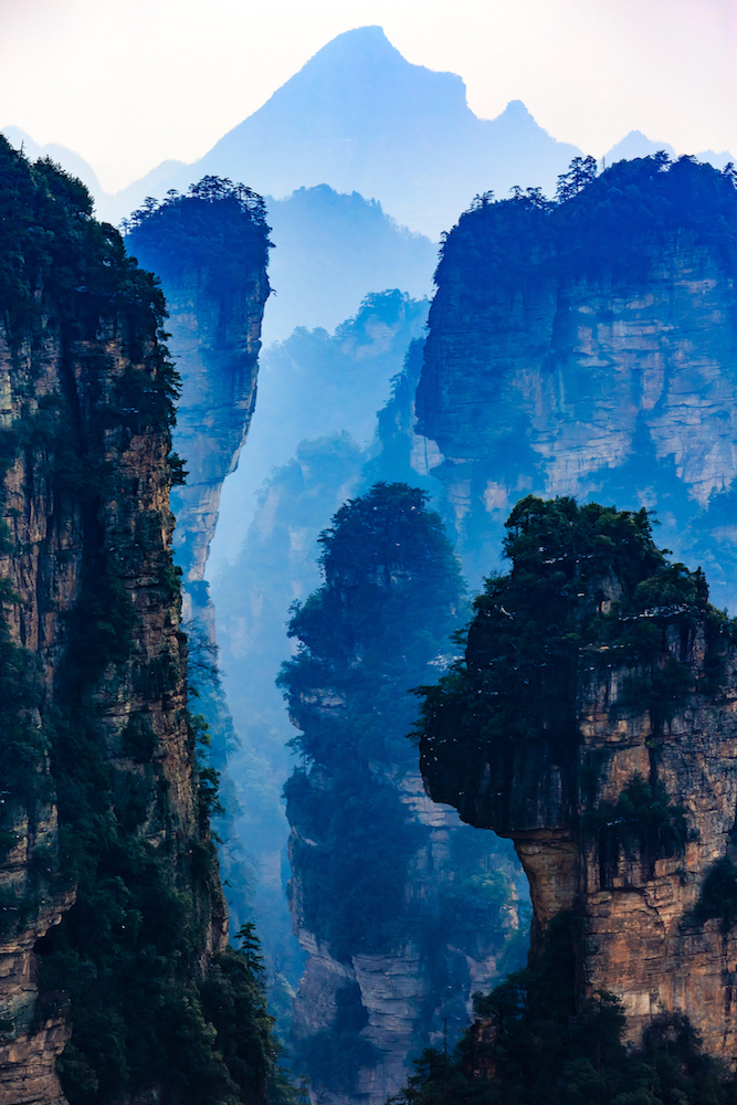 Photography Holiday Avatar Mountains China